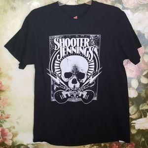 Shooter Jennings Sz L shirt